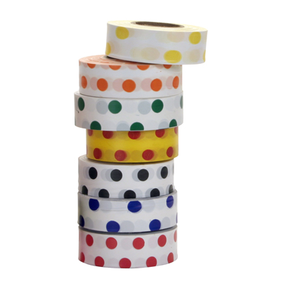 Polka Dot Roll Flagging