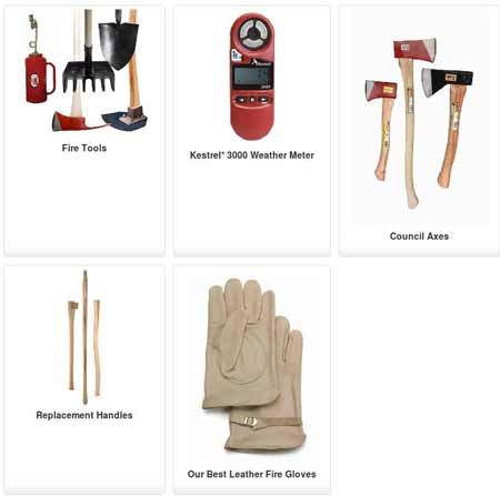 Wildland Firefighting Tools