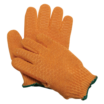 Deluxe Orange Planter's Gloves