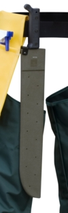 "HDT MACH/SH - 18"" Plastic Machete Sheath w. Belt Loop"