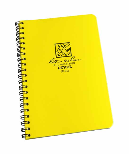 RTR SNB313 - Rite in the Rain Spiral Notebooks - Level (84 pages) - SNB313