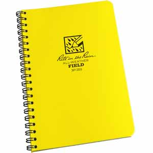 RTR SNB353 - Rite in the Rain Spiral Notebooks - Field (84 pages) - SNB353