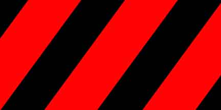 FLG SRBK - Red/Black Striped Flagging