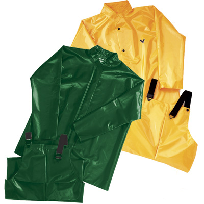 RNG JGI/sm - 07) Iron Eagle Rain Jacket Green Small (in stock)