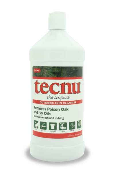 SAF TL/C32 - Tecnu* Poison Oak-N-Ivy cleanser. 32 oz. bottle