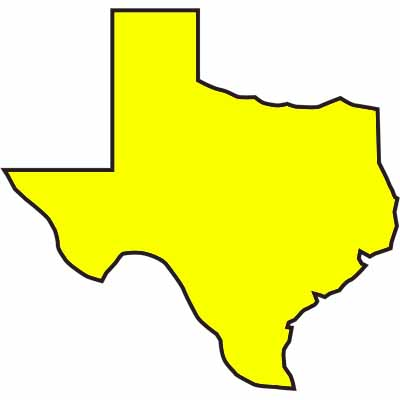 FLG TXYG - Yellow Glo Texas Embossed Flagging