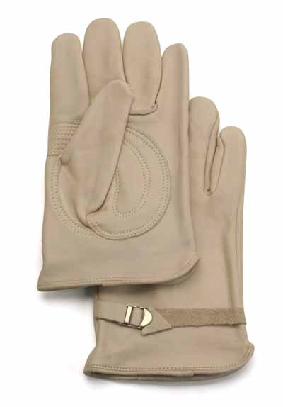 GLV 1550/M - Our Best Leather Fire Gloves medium - Priced per doz.