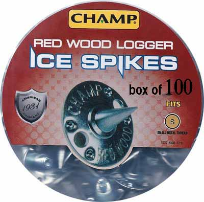 SAF RC/RW100 - Champ Redwood Logger Replacement Caulks (Box of 100)