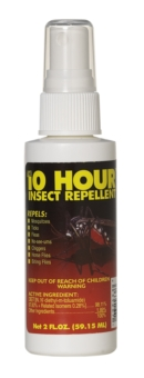 SAF TL/IR2 - Tecnu* 10-Hour* Insect Repellent. 2 oz. spray bottle.