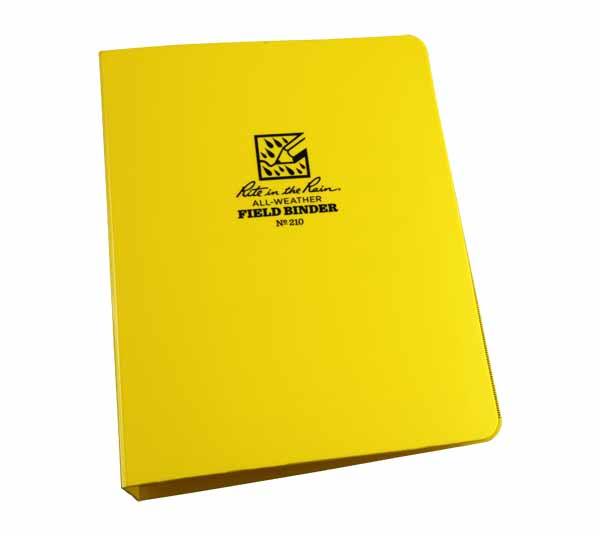 RTR RB210 - Rite in the Rain 6-Ring Binder, 1""