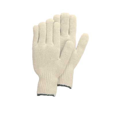 GLV 3805/M - Economy String Knit Gloves - medium