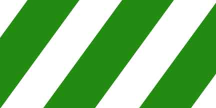 FLG SWG - Green/White Striped Flagging