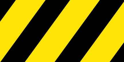 Flg Sybk Yellow Black Striped Flagging