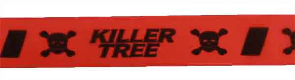 FLG CUOGBK26 - Killer Tree - Orange Glo/Black flagging