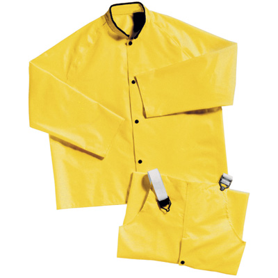 RNG JYM/md - 02) Magnaprene Rain Jacket Yellow Medium (in stock)