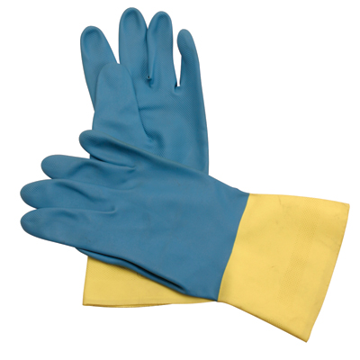 GLV  2570/Lg - Neoprene Over Latex Chemical Gloves (per doz) - Lg