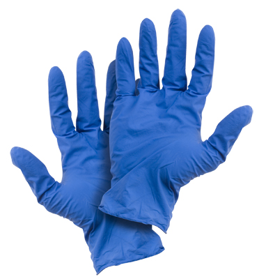GLV 3276/lg - Nitrile Disposable Gloves (box of 100) - Large