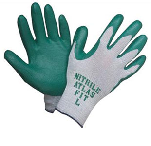 GLV 350/Lg - Atlas Nitrile Gloves - large