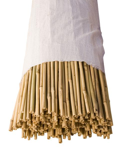 BAM N308 - 04) 3' x 8-10mm Bamboo Stakes  (500/bale)