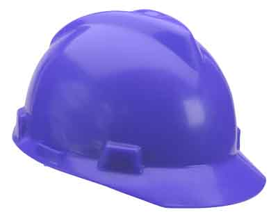 SAF MSA/463943 - Hardcap Blue w/standard suspension