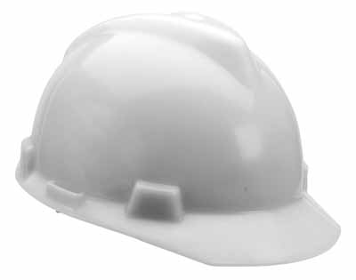 SAF MSA/463942 - Hardcap White w/standard suspension