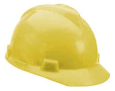 SAF MSA/463944 - Hardcap Yellow w/standard suspension
