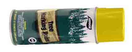 PNT 630 - Aervoe Tree Marking Paint - Yellow Case of 12 cans