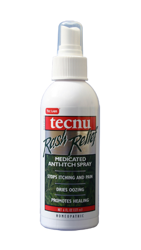 SAF TL/RRS6 - Tecnu* Rash Relief Spray. 6 oz bottle