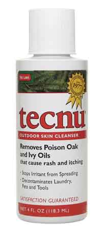 SAF TL/C4 - Tecnu* Poison Oak-N-Ivy cleanser. 4 oz. bottle