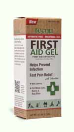 SAF TL/FA2 - Tecnu* First Aid Gel 2 oz tube