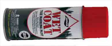 PNT 697 - Aervoe Wet Coat Tree Marking Paint - Red Case of 12 cans